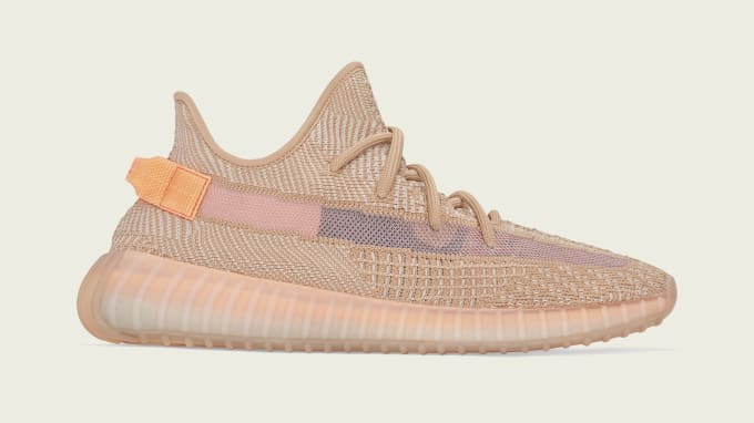 Adidas Yeezy Boost 350 V2 'Clay' (Lateral)