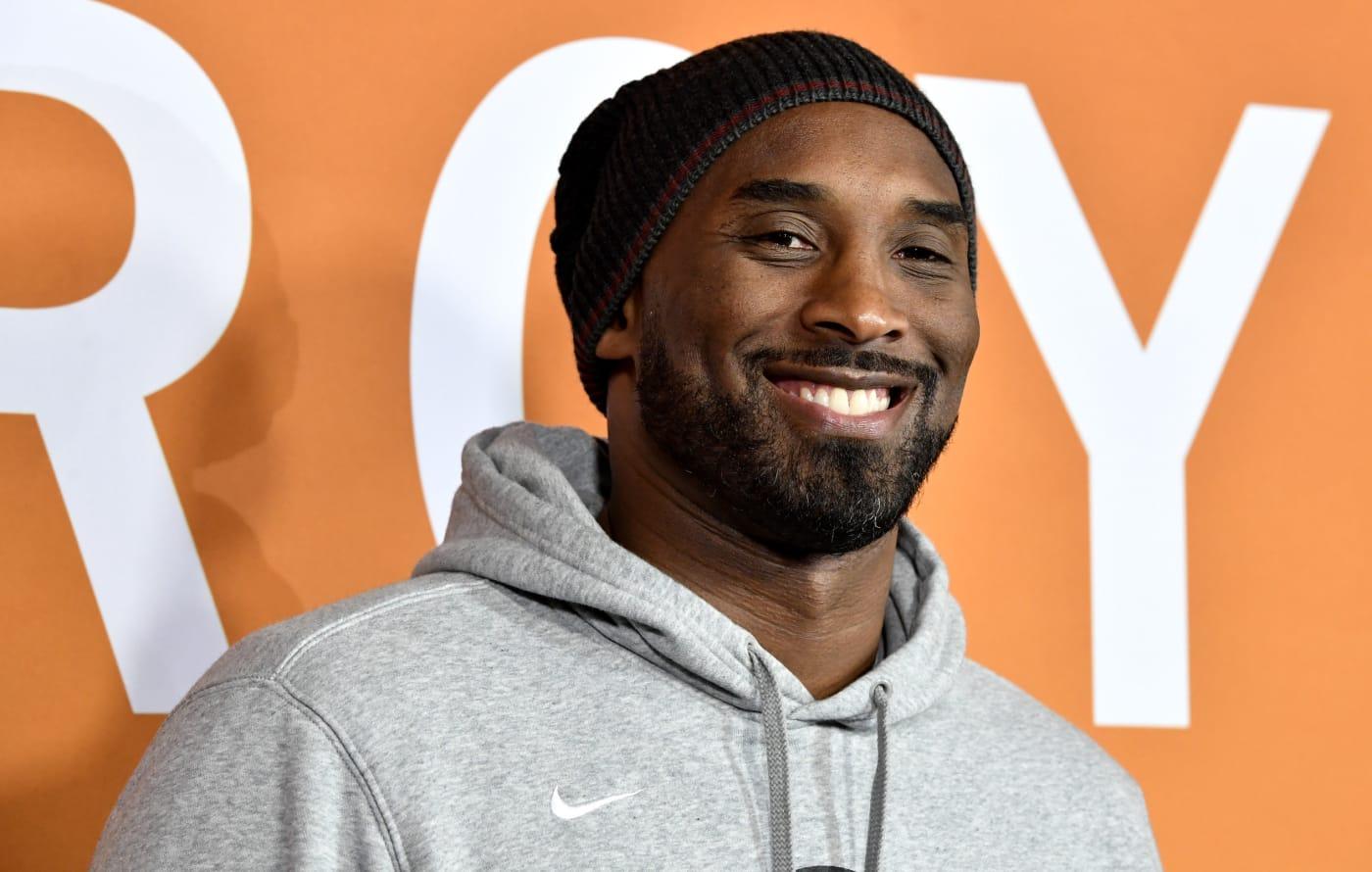Kobe Bryant Smiling