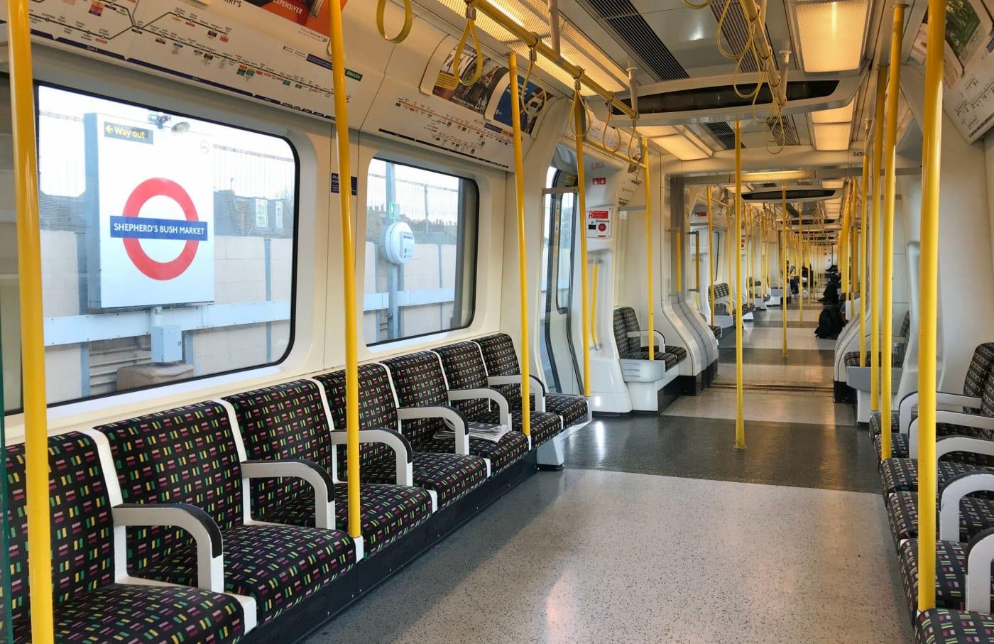 london-train