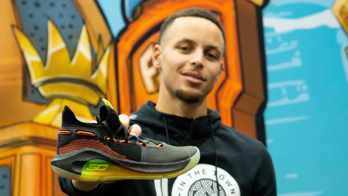 2baa5c50941d Stephen Curry Speaks on Putting Christian Messages on His Sneakers ...
