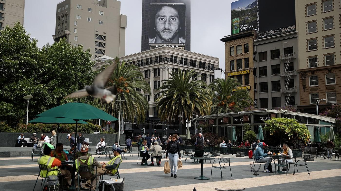 Colin Kaepernick Nike Billboard
