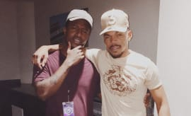 Chance The Rapper and his intern