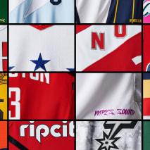 Nike Earned Edition NBA Uniforms