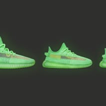 Adidas Yeezy Boost 350 V2 'Glow' PR300 (Lateral)