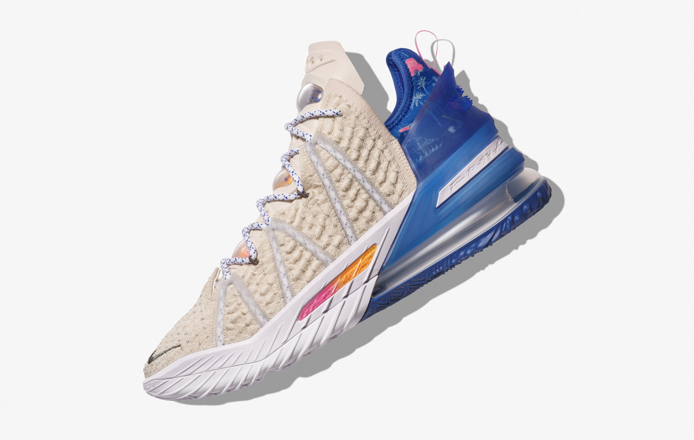Nike LeBron 18 'Los Angeles By Day' Lateral