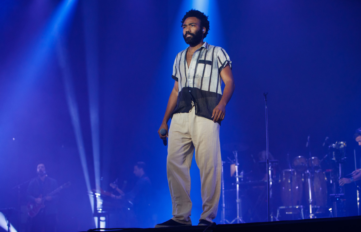 Donald Glover at Lovebox Festival 2018