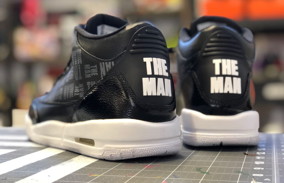 c14a5a4bd59 How Mache Became the WWE s Go-To Sneaker Customizer