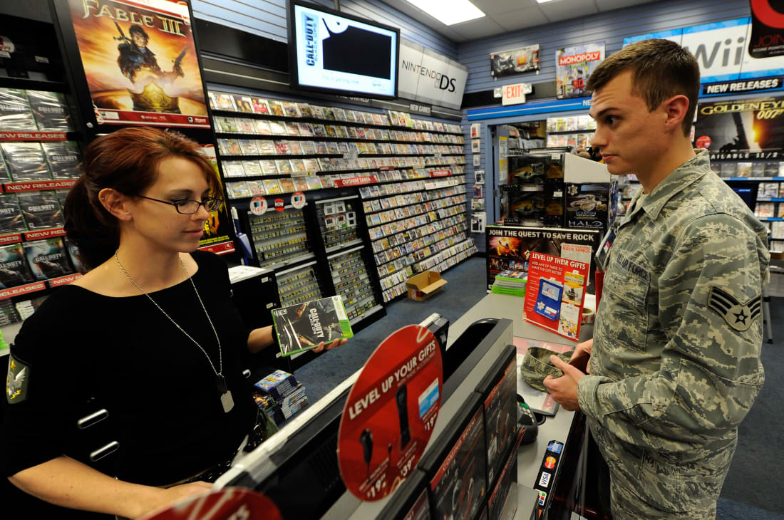 Soldier and Video Games