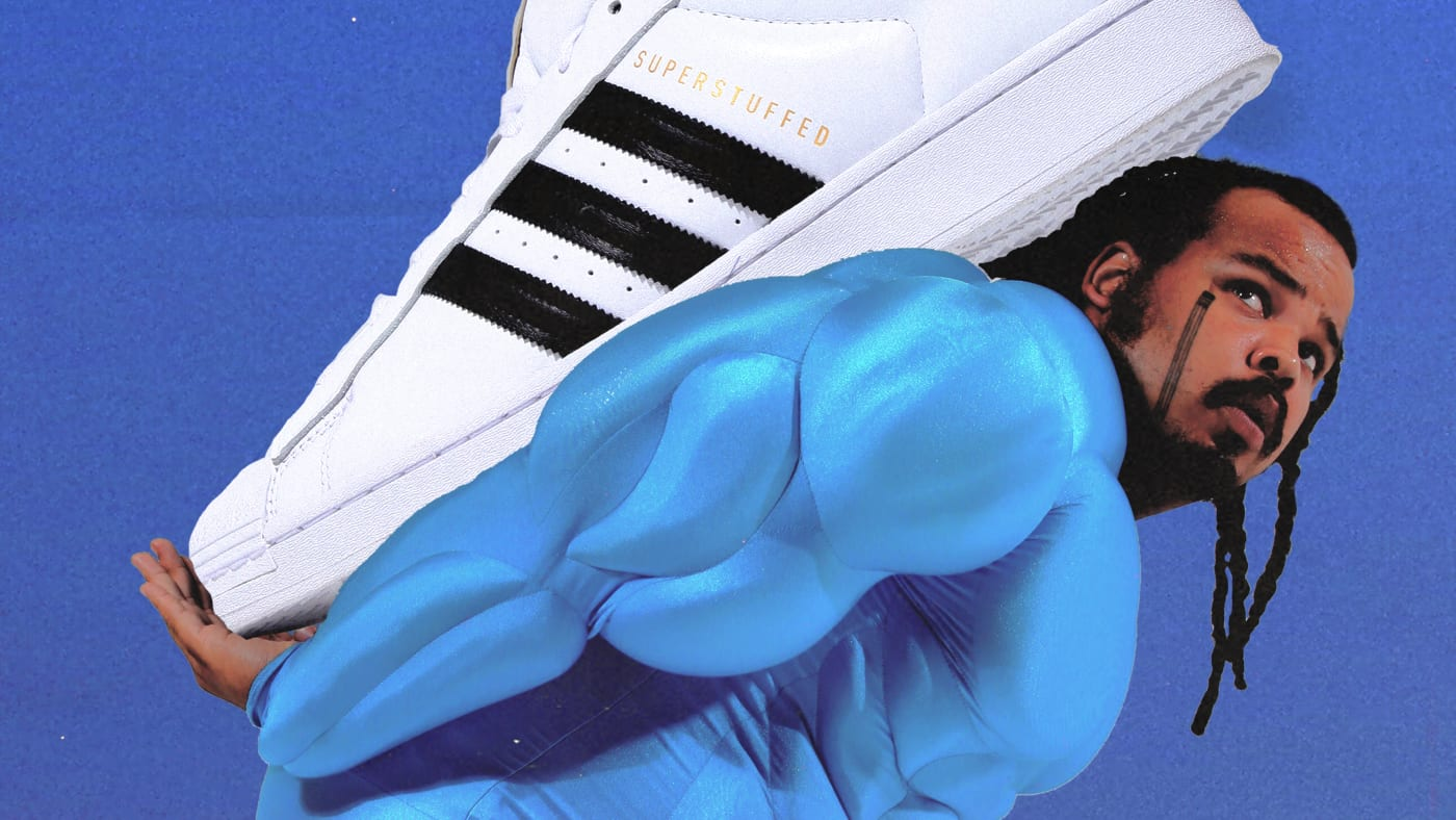 Kevin Frost x Adidas Superstar Superstuffed Sneakers