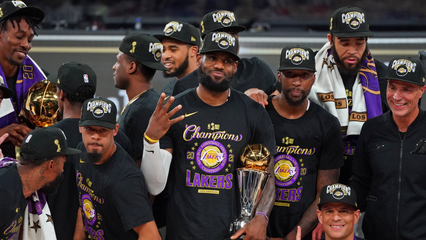 Best Los Angeles Lakers 2020 NBA Finals Championship Merch ...