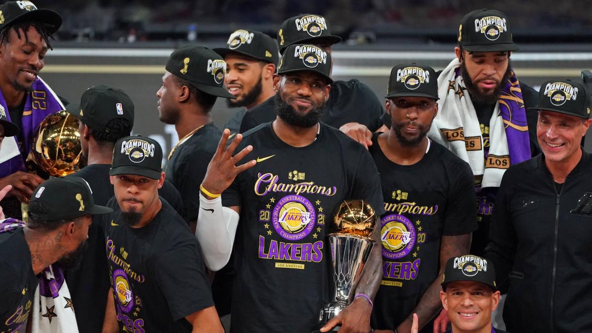 Best Los Angeles Lakers 2020 NBA Finals Championship Merch ...