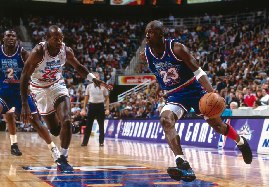 Michael Jordan 1993 NBA All-Star Game