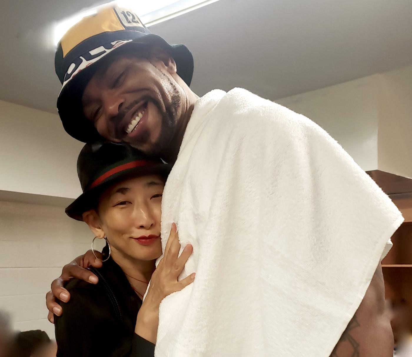 Sophia Chang and Method Man