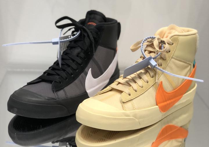 Halloween Themed Colorways of Virgil Abloh's Nike Blazers