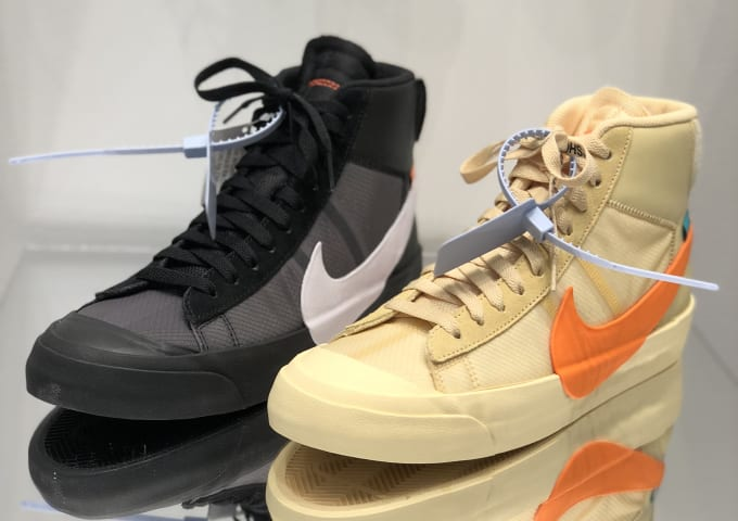 Off-White x Nike Blazer Mid  All Hallows Eve  and  Grim Reepers 975e93201