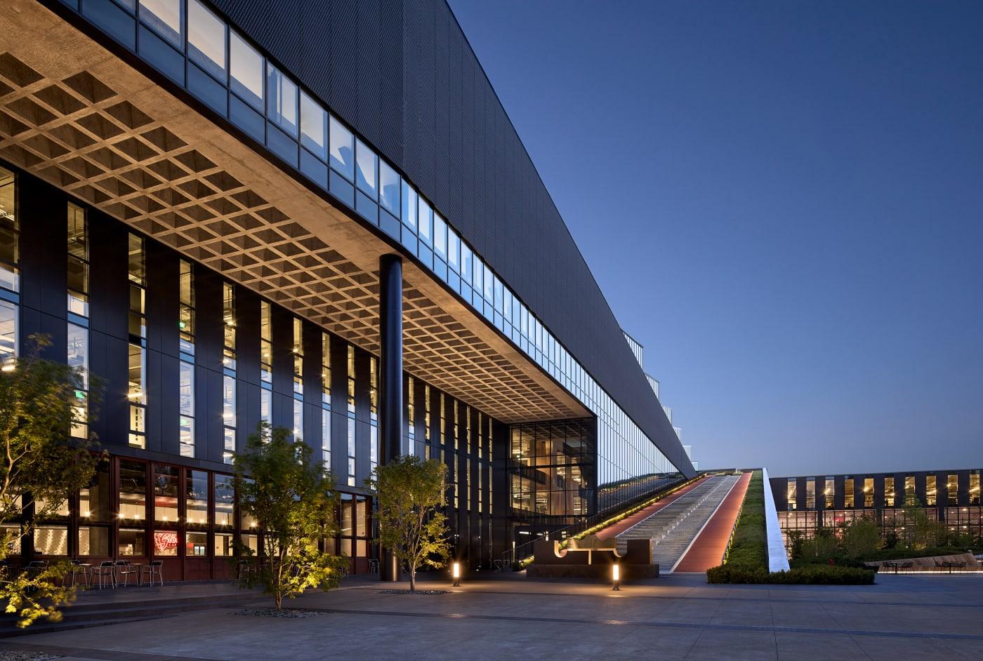 The LeBron James Innovation Center at Nike's world headquarters in Beaverton Oregon