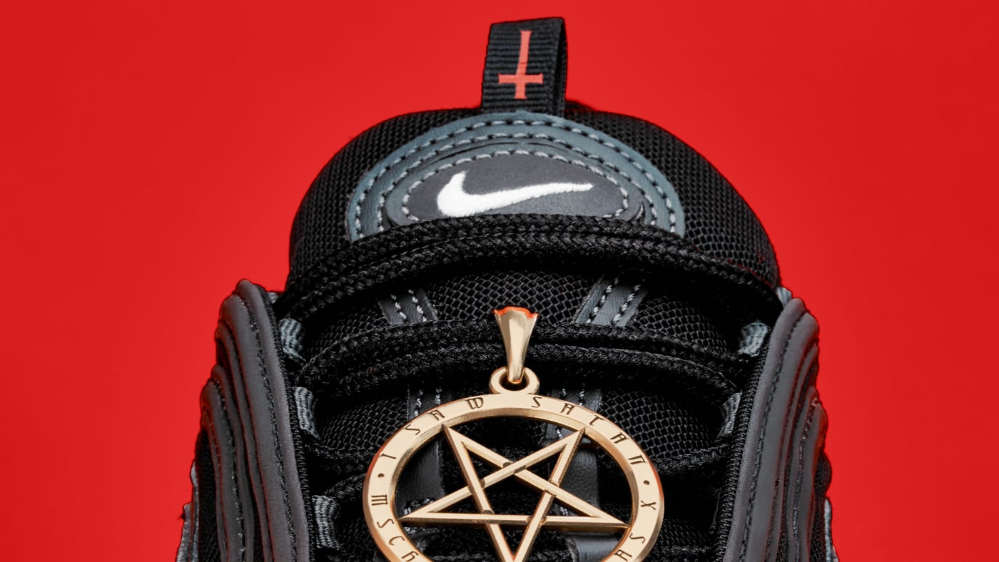 Nike's Lawsuit Over Satan Shoes by Lil Nas X and MSCHF: Free Speech Defense  | Complex