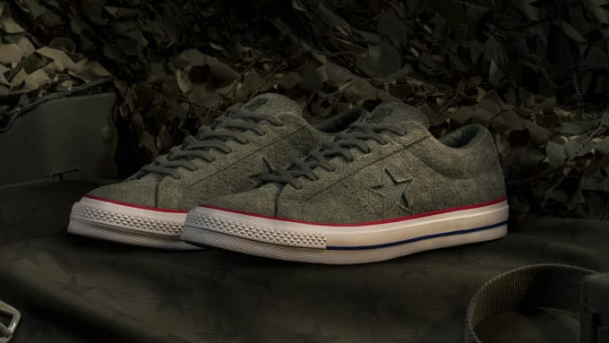 competitive price db283 7f7d1 Undefeated x Converse One Star