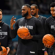 NBA All-Star Practice 2019