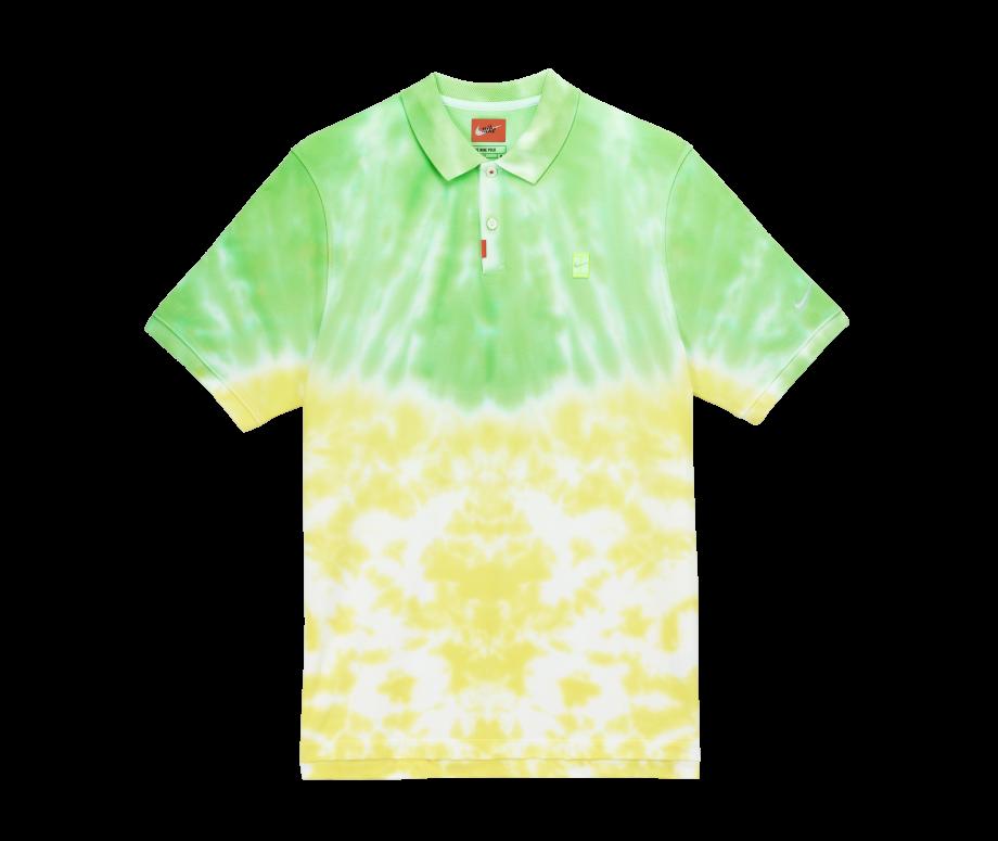 Nike SB Golf Polo Tie-Dye Yellow/Green
