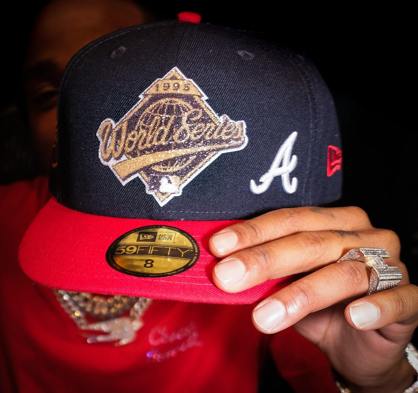 Quavo x Lids x New Era 59Fifty Atlanta Braves 1