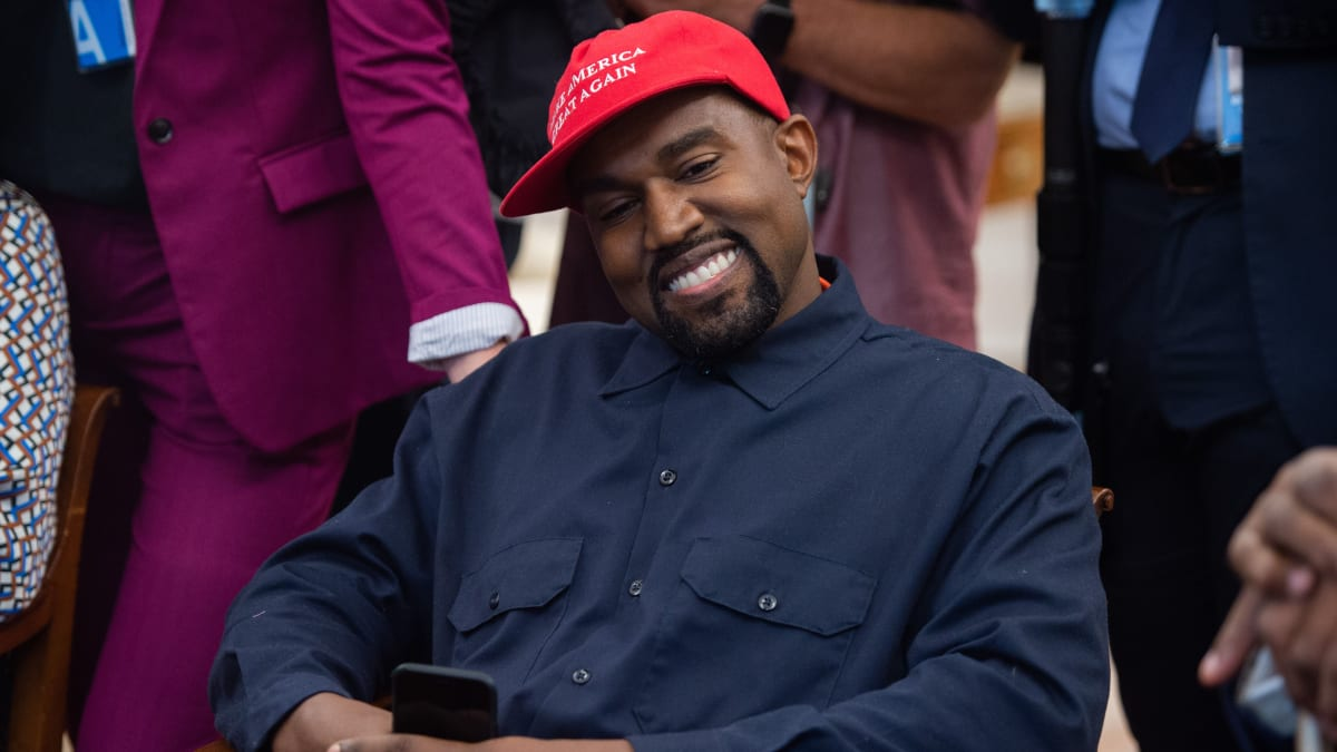 b98bff337b4 Kanye West Gives Away Yeezys to Kids at Charity Event in Uganda ...