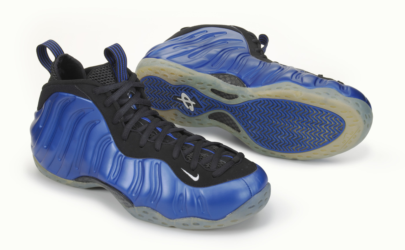 Blue Mirror Nike Foamposite One w AS ...YouTube