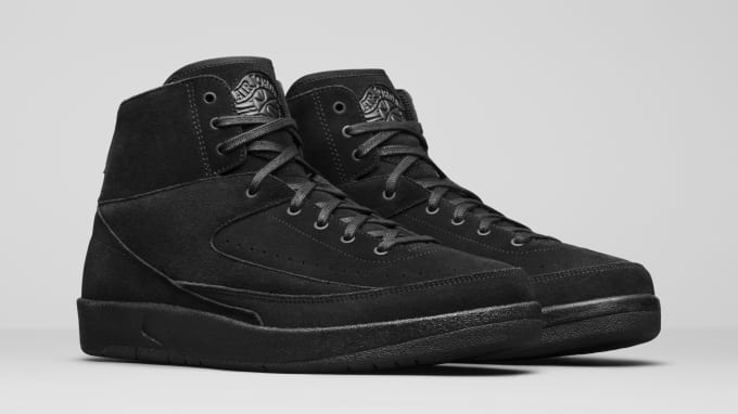 "Air Jordan 2 Decon ""Black"""