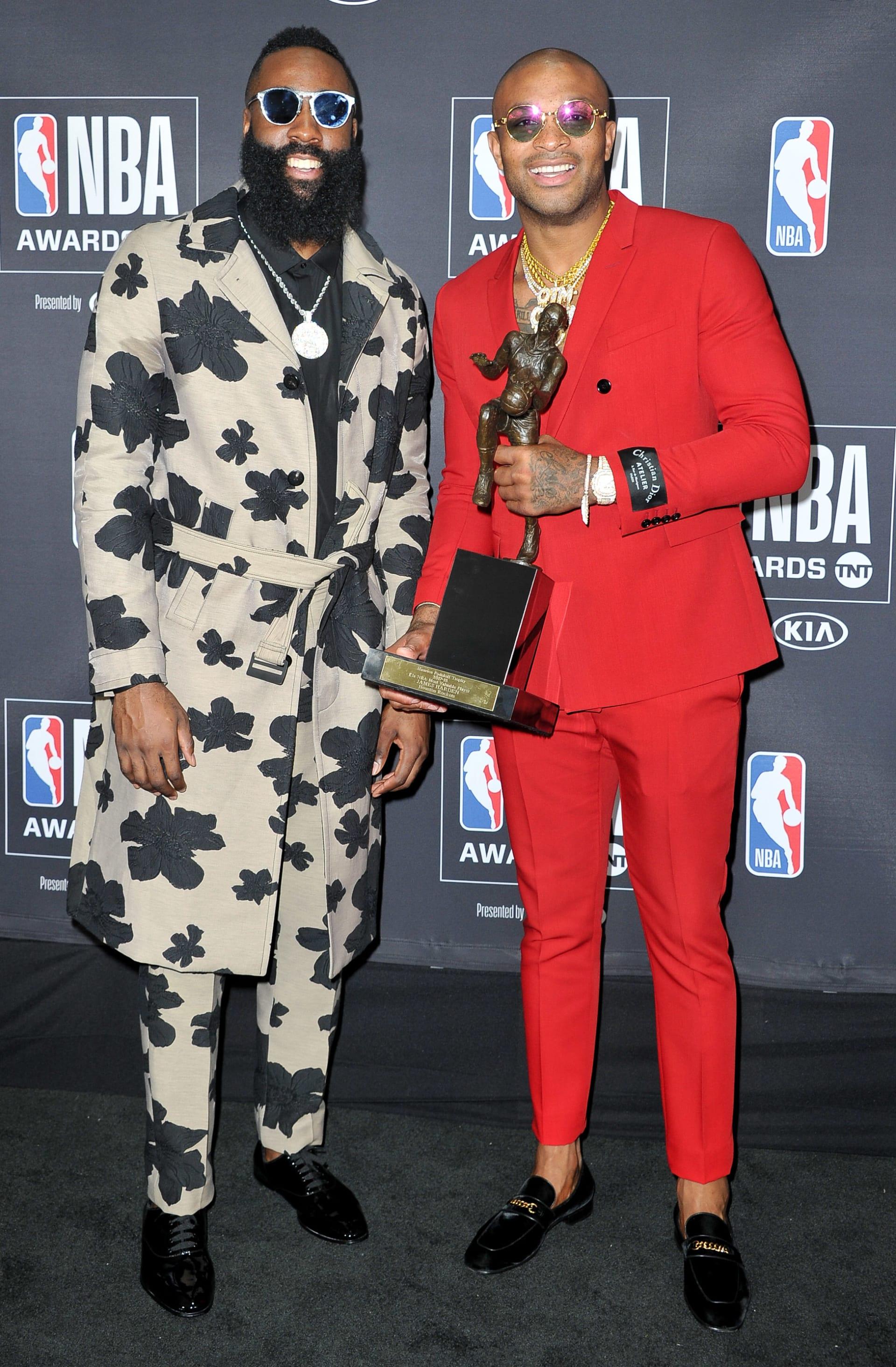 James Harden PJ Tucker 2018 NBA Awards