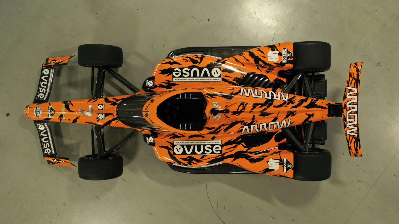Undefeated x Arrow McLaren SP Indy Car 2