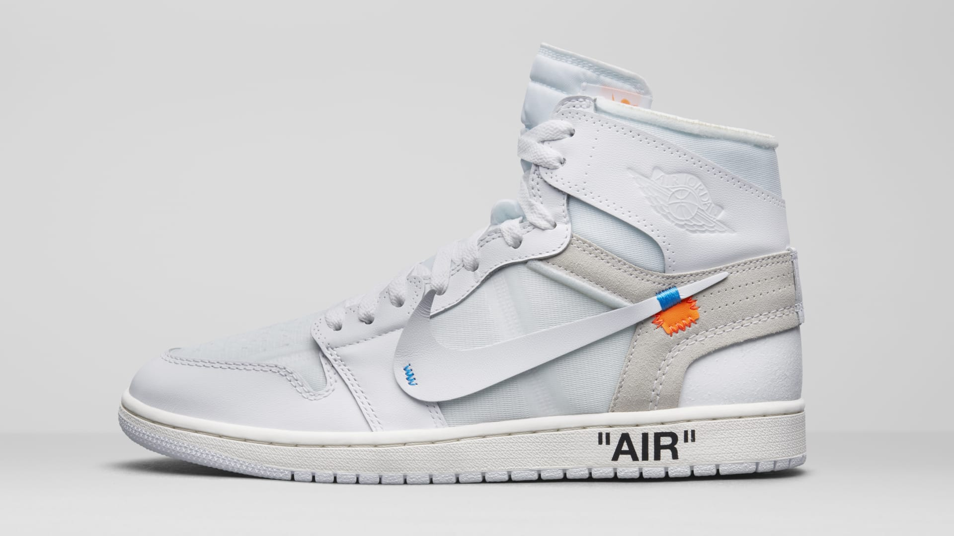 e66f9c7dd5d588 Off-White x Air Jordan 1  White