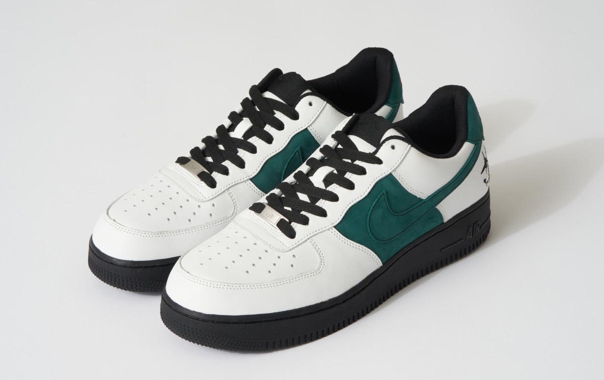 100 Wolves x Nike Air Force 1 Aurora Anthony 'Tunde' Sneakers