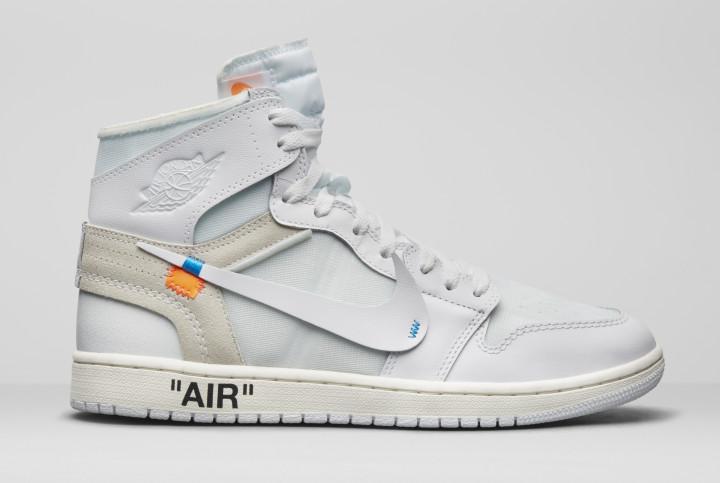 Air Jordan 1 x Off-White AQ0818-100 (Lateral 2)