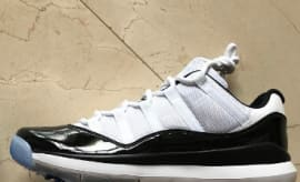 "Air Jordan 11 ""Concord"" Golf Shoe"