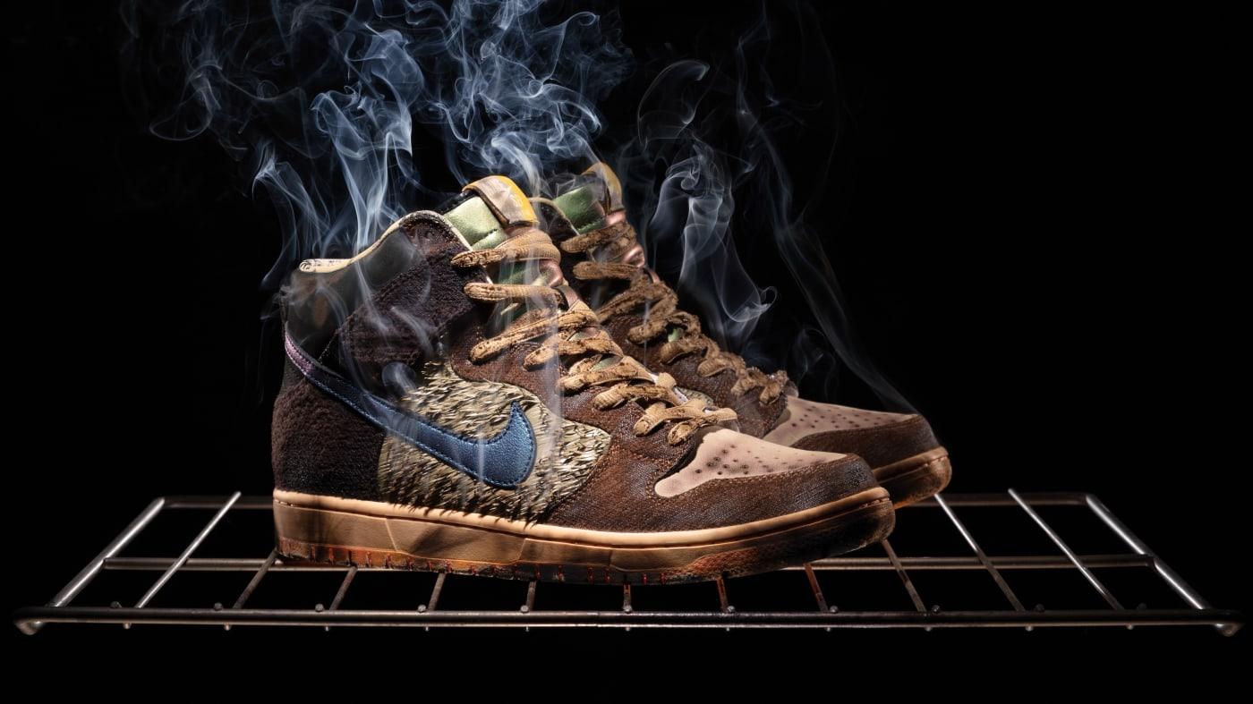 Concepts x Nike SB Dunk High 'Turdunken' 5