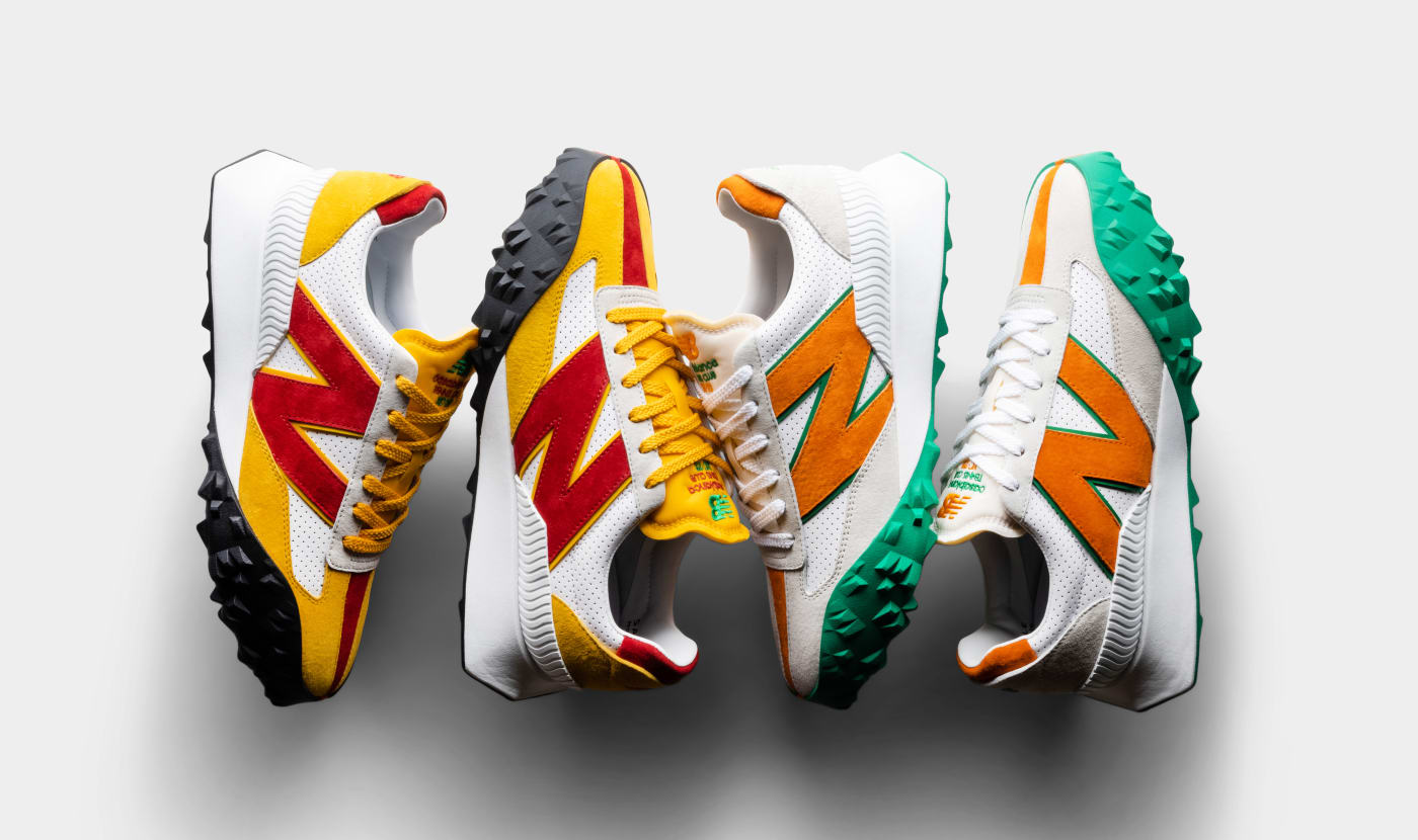Casablanca x New Balance XC-72 Sneaker Collaboration