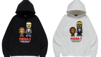 Pusha T x Bape Hoodie