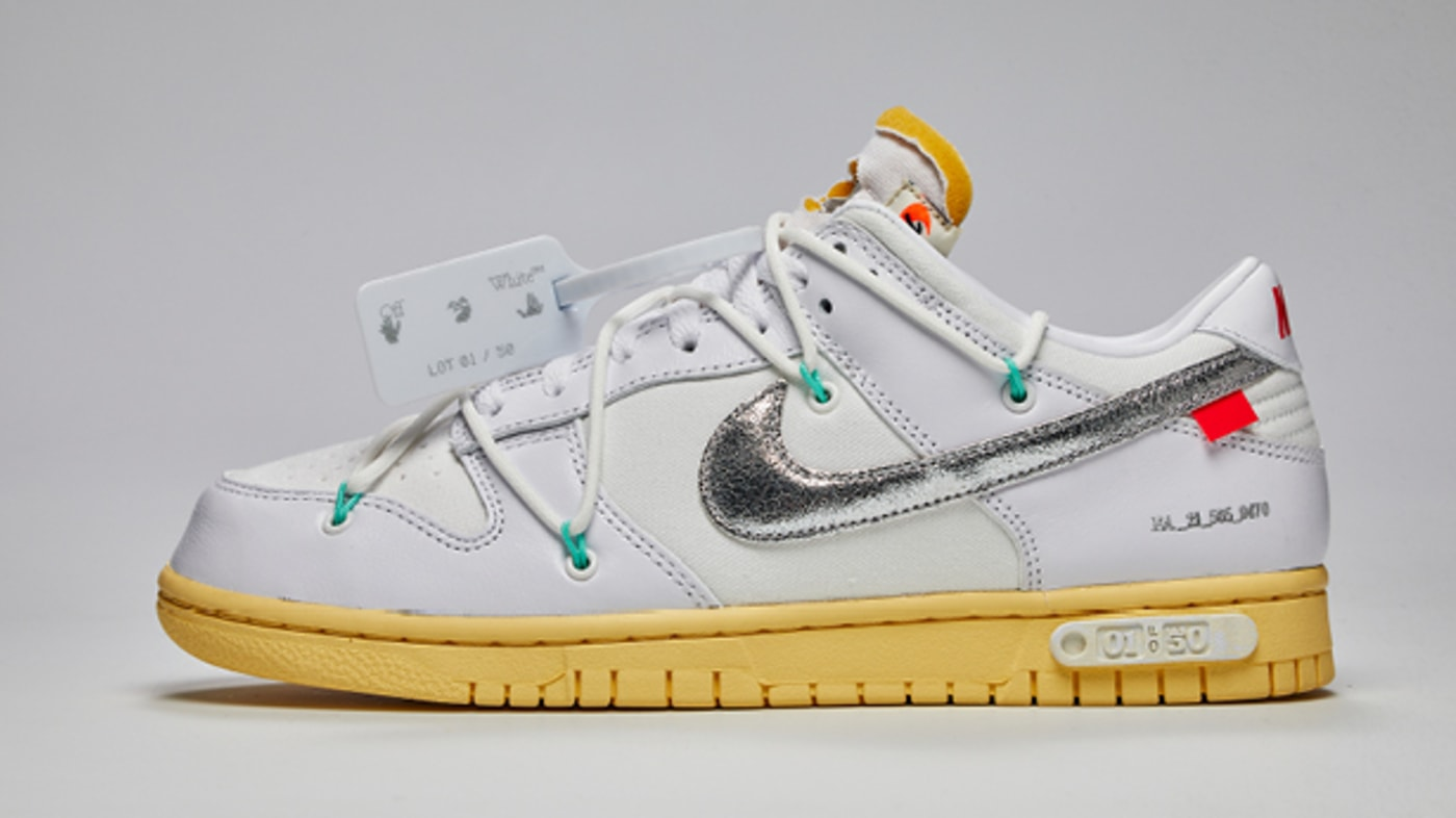 Off-White x Nike Dunk Low SNKRS Special