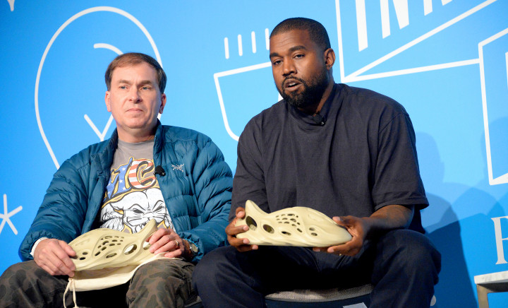 Kanye West and Steven Smith