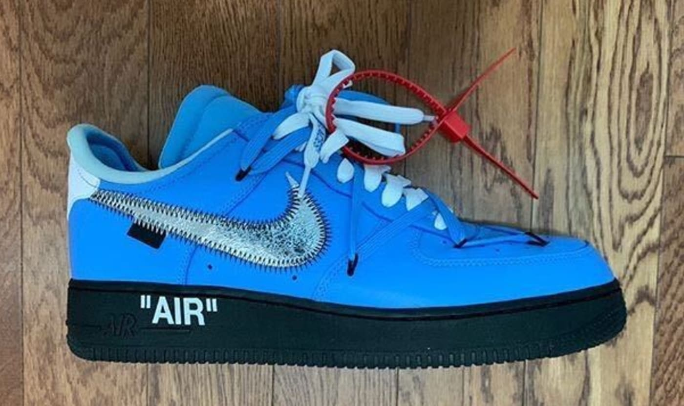 Unreleased Off White x Nike Air Force 1