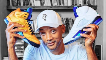 Will Smith With Air Jordan 5 'Fresh Prince'