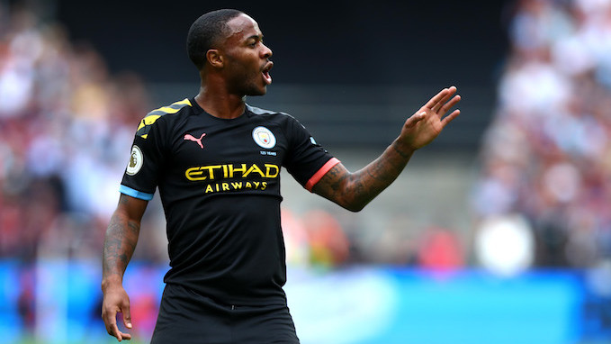 pretty nice 0b7f1 66bb3 Manchester City's Raheem Sterling Could Be the First Soccer ...