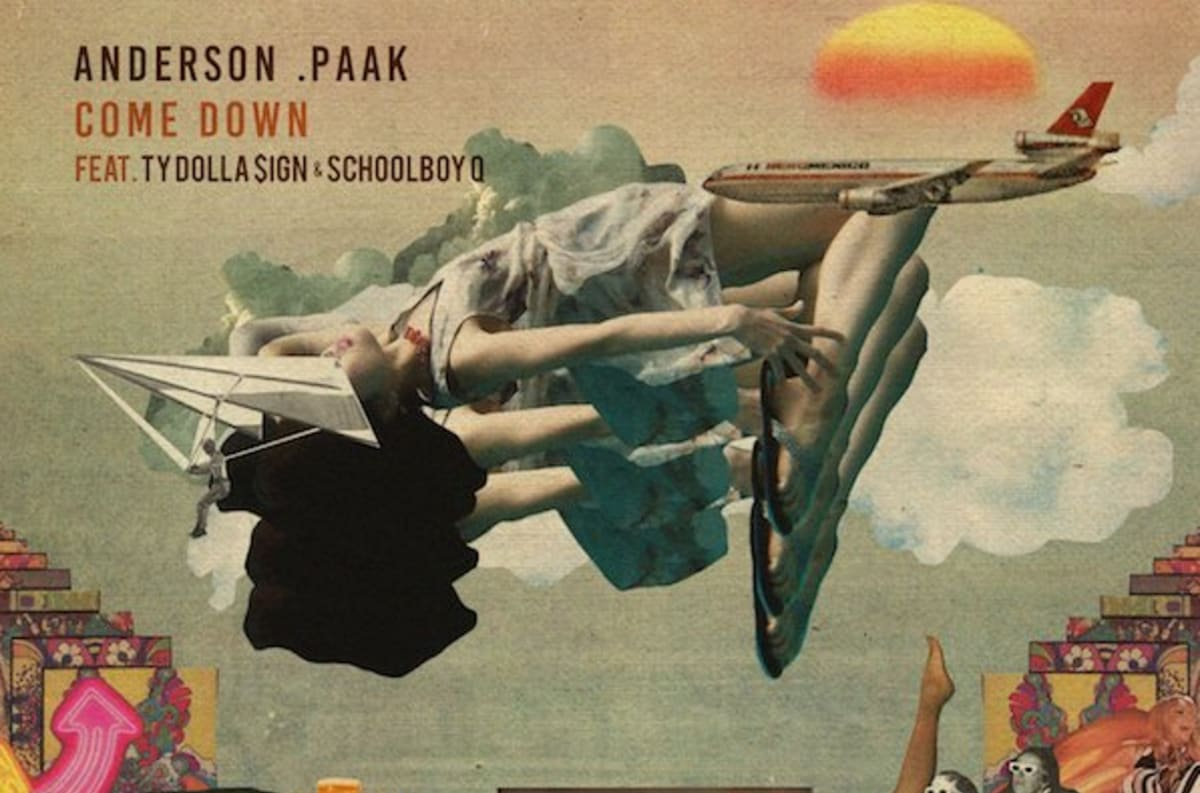 Anderson .Paak Invites Ty Dolla Sign and Schoolboy Q to