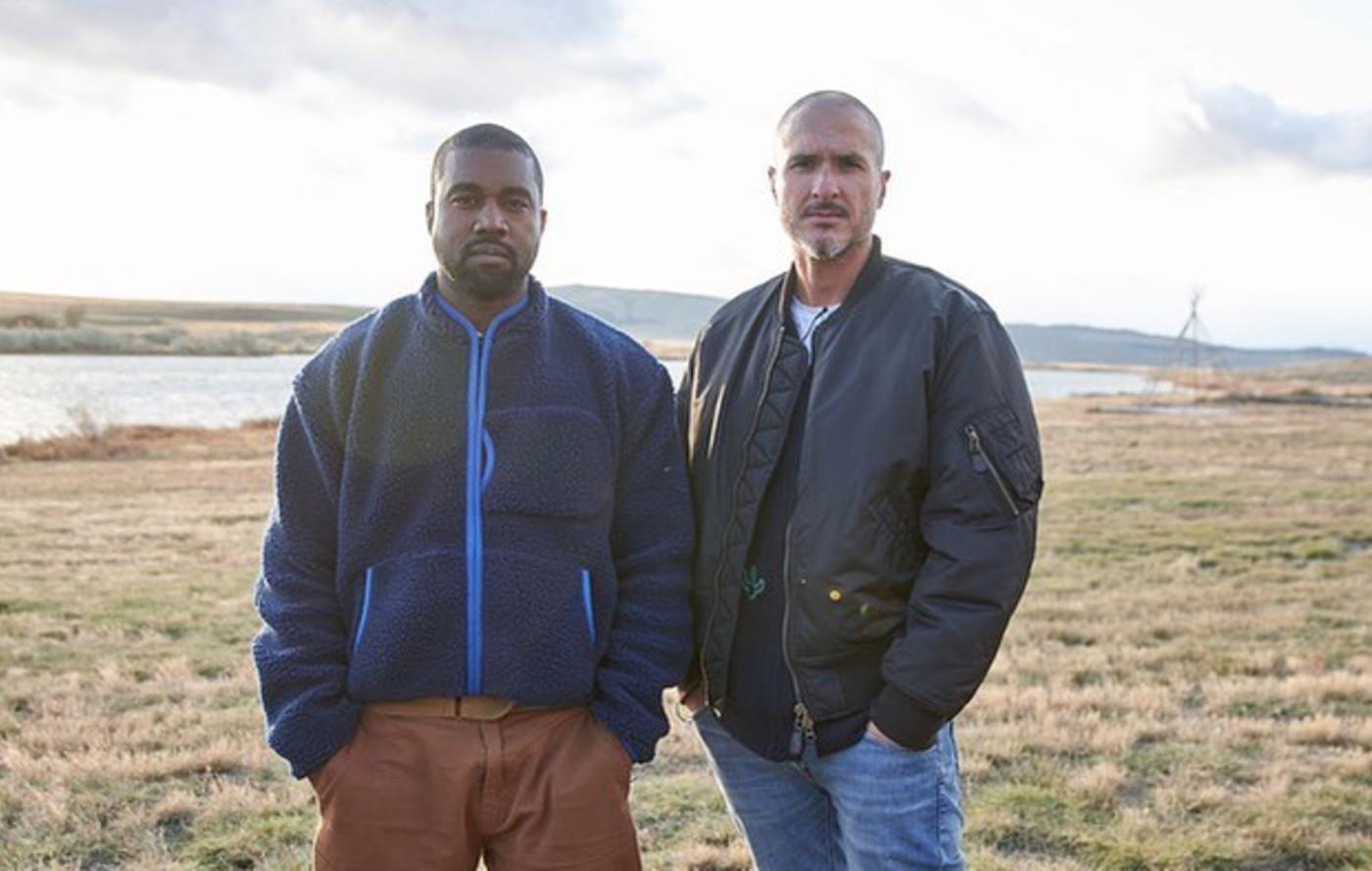 Zane Lowe and Kanye West