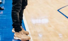 Kevin Hart Nike Air Zoom Generation Vachetta Tan All Star (1)