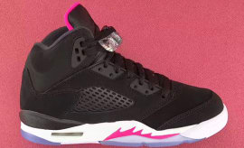 Air Jordan 5 GS Deadly Pink Release Date Profile 440892-029