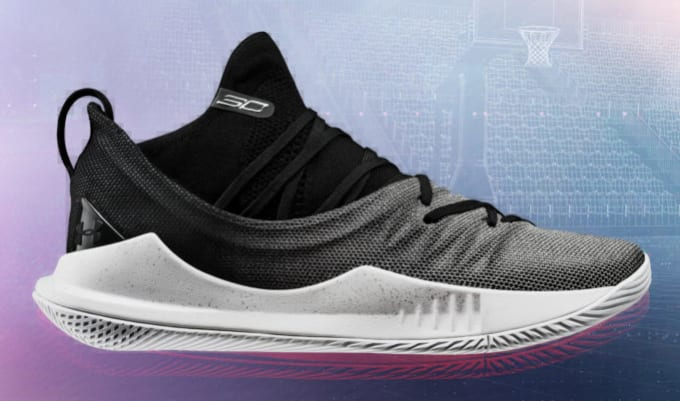 Under Armour Curry 5 'Black/White'