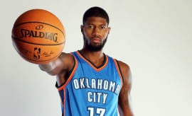 Paul George OKC Away
