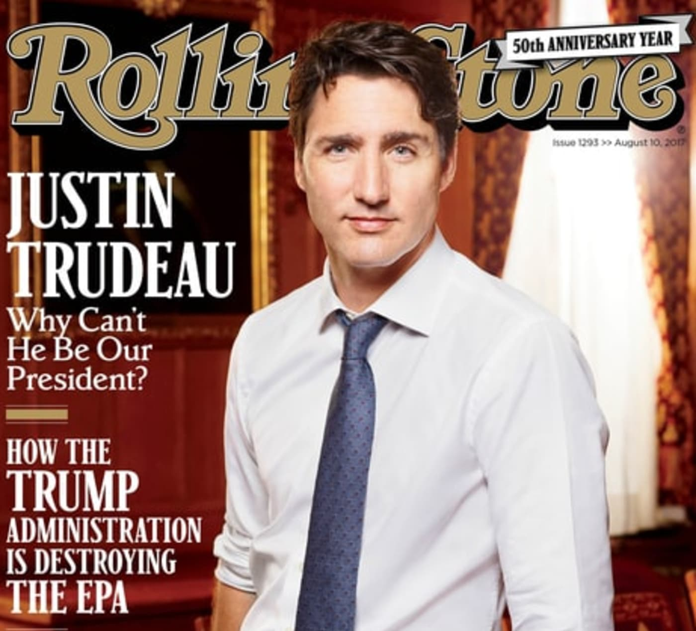 How Do Canadians Really Feel About Rolling Stone's Justin Trudeau Cover?