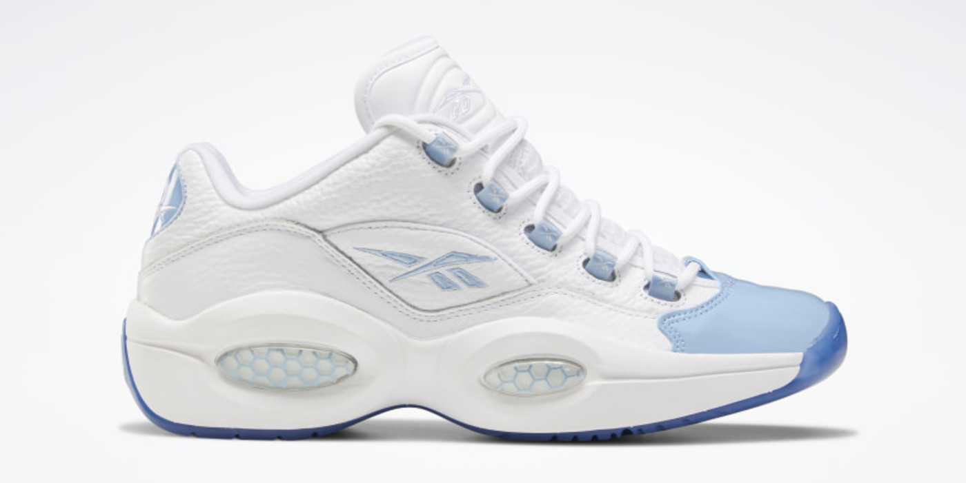 Reebok Question Low 'Patent Toe Blue'